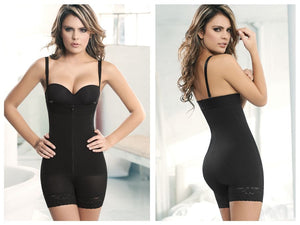 1044 Powernet Titi Strapless Color Black