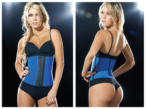 2026 Latex Sport Girdle Body Shaper Color Blue