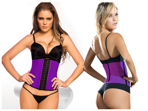 2026 Latex Sport Girdle Body Shaper Color Purple