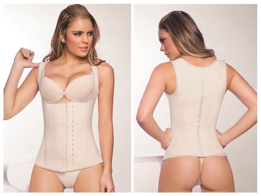 2027 Latex Girdle Body Shaper Color Beige
