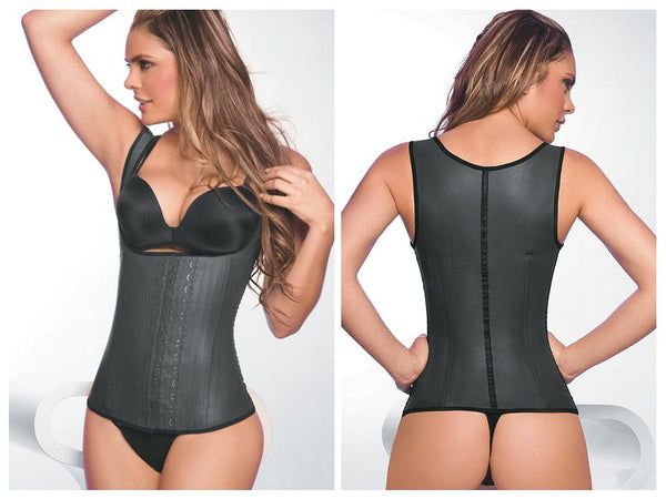 2027 Latex Girdle Body Shaper Color Black