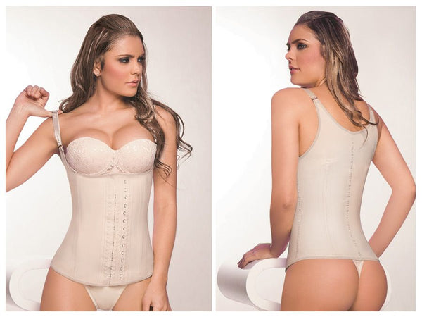 2028 Latex Girdle Body Shaper Color Beige