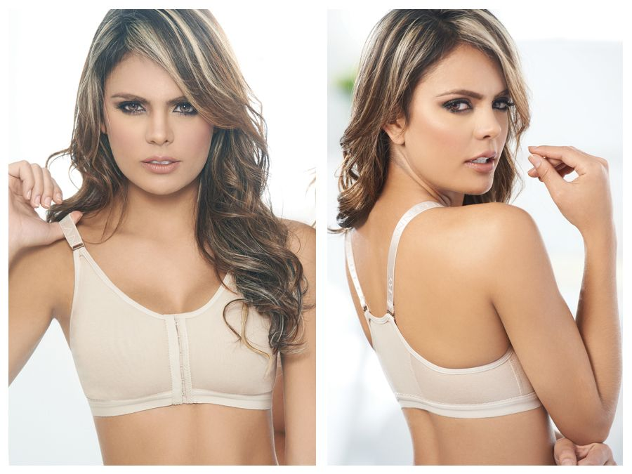 3004 Powernet Brassiere Color Beige