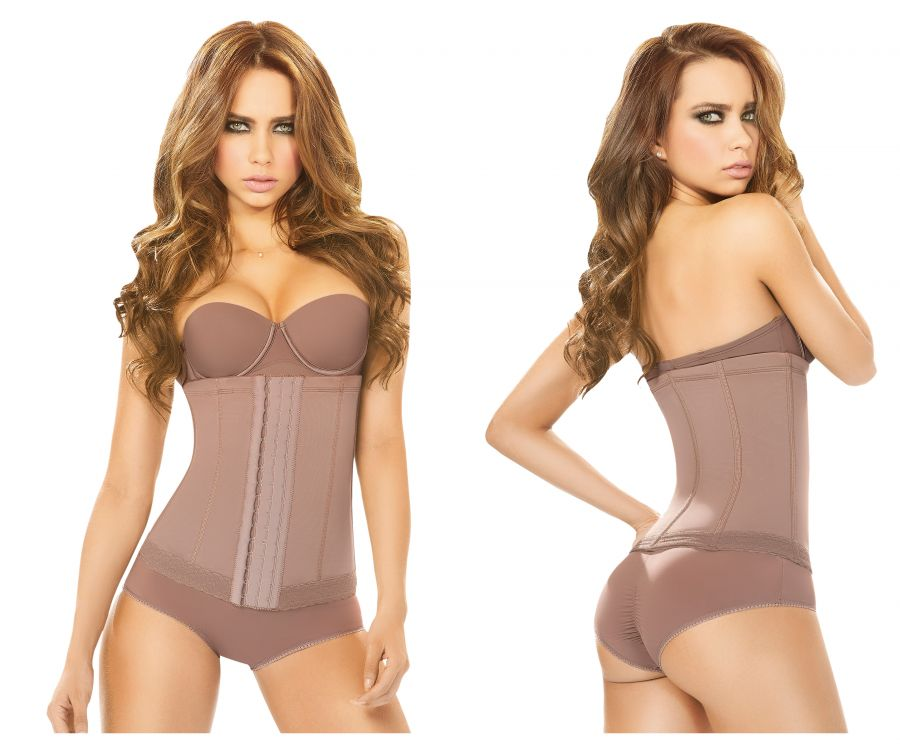 5175 Powernet waist cincher Color Brown