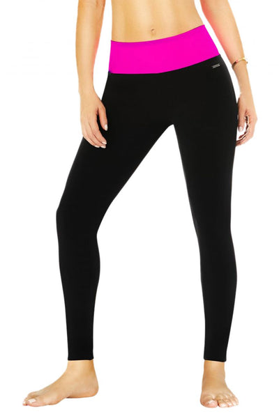 7026 Control Leggings Neon Color Pink