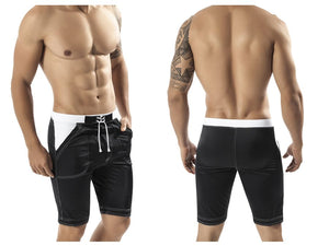0597 Guarulhos Swimsuit Long Trunk Color Black