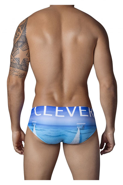 0638 New Zealand Swimsuit Brief Color Blue