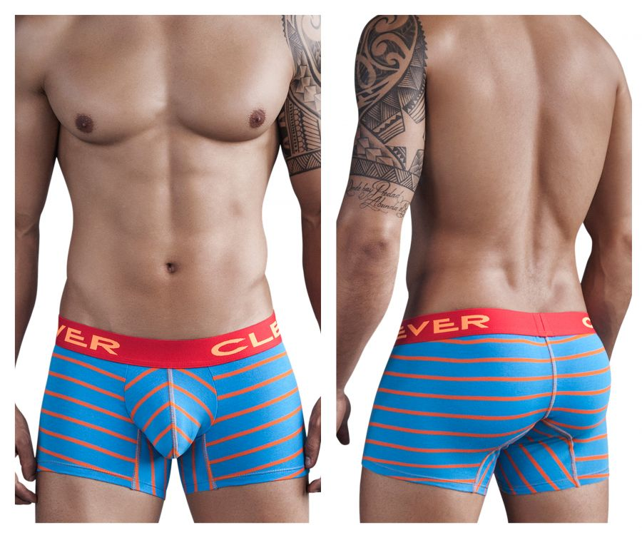2269 Mayan Pantheon Boxer Color Blue