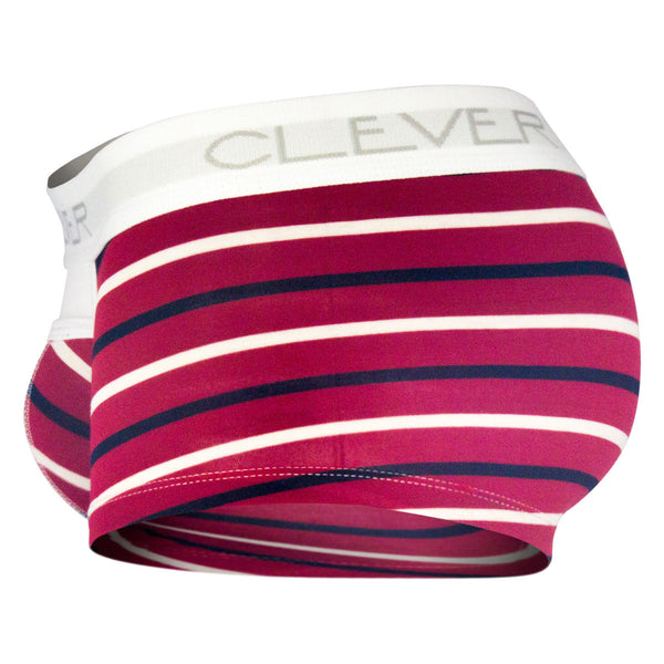 2297 Wine Boxer Briefs Color Red