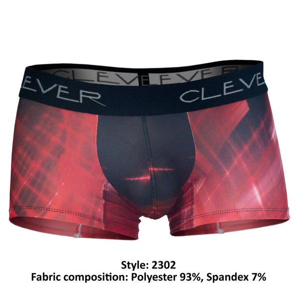2302 Electricity Boxer Briefs Color Red