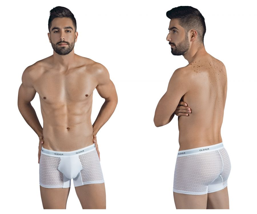 2310 Magnificent Boxer Briefs Color White