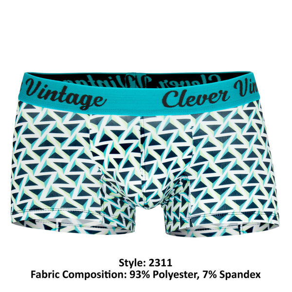 2311 Triangle Boxer Briefs Color Blue