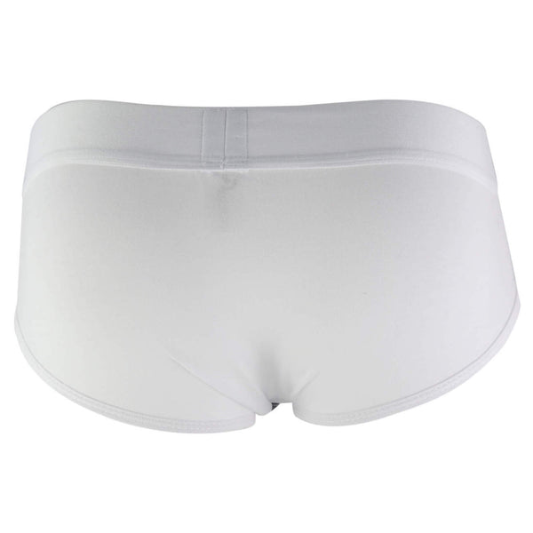 5266 Tupac Piping Brief Color White