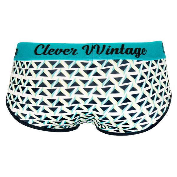 5311 Triangle Piping Briefs Color Blue