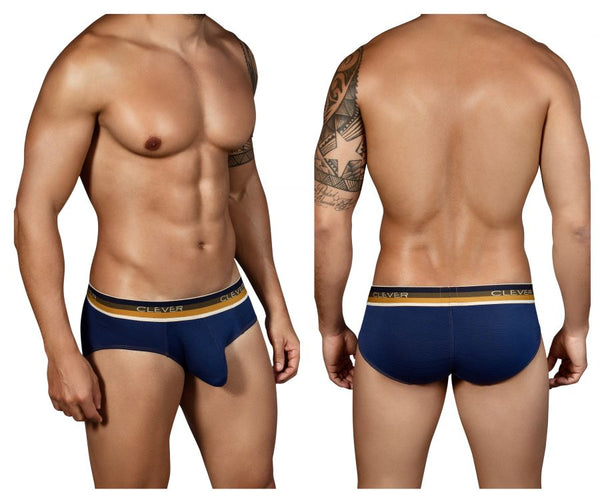 5314 Lines Latin Briefs Color Blue