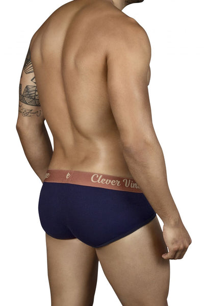 5316 Old School Open Fly Briefs Color Blue
