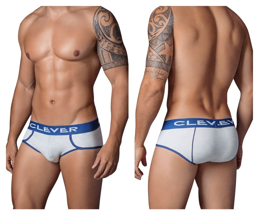 5321 Roma Piping Brief Color Gray