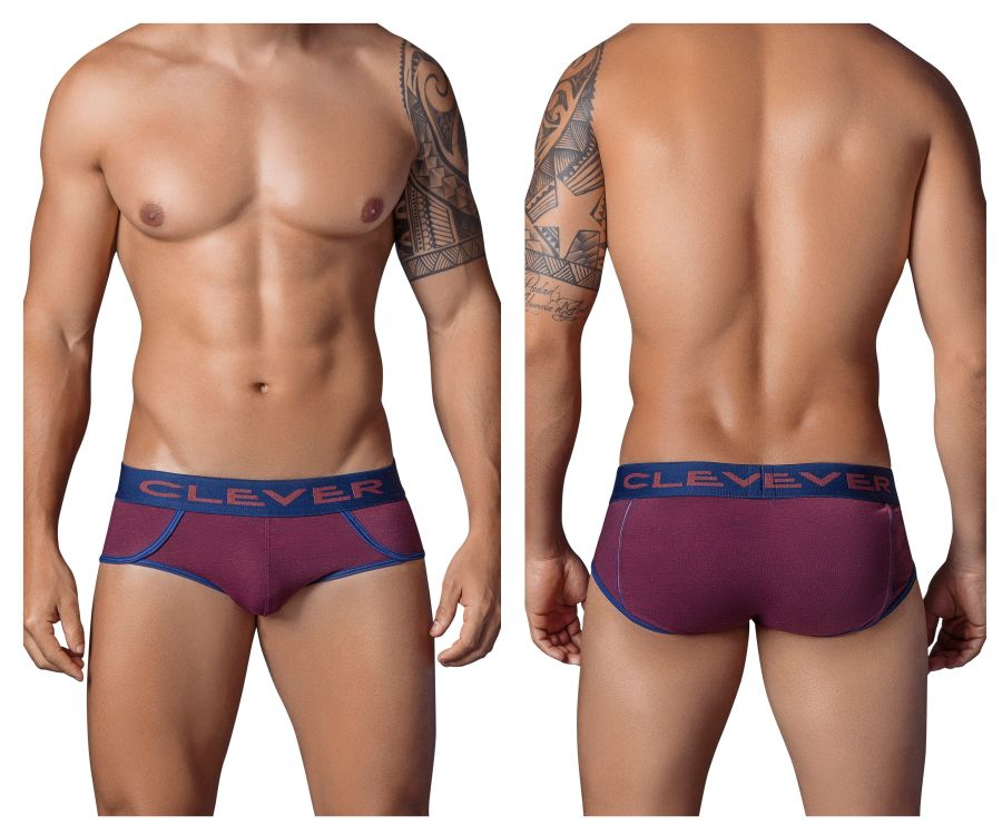5321 Roma Piping Brief Color Purple