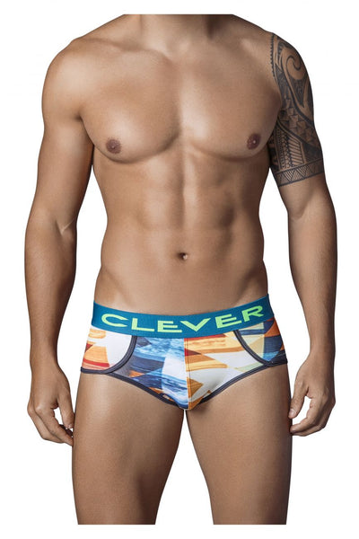 5330 Utopia Piping Brief Color Yellow