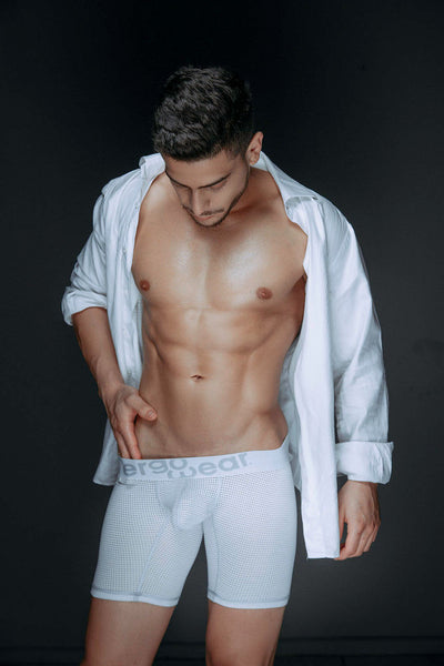 EW0463 MAX Mesh Boxer Briefs Color White