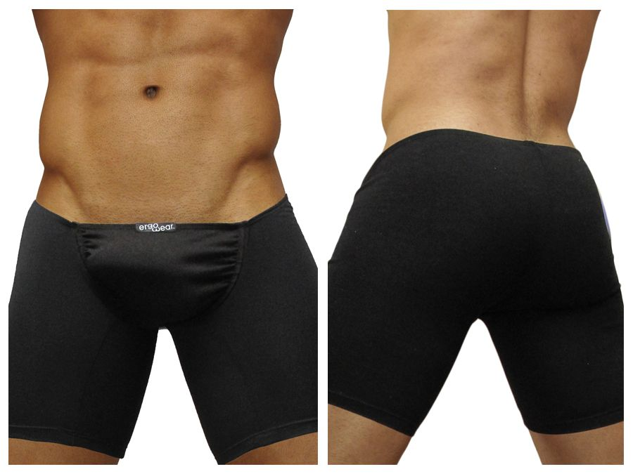 EW0169 FEEL Long Boxer Color Black