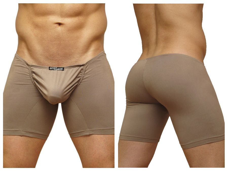 EW0223 FEEL Suave Long Boxer Color Brown
