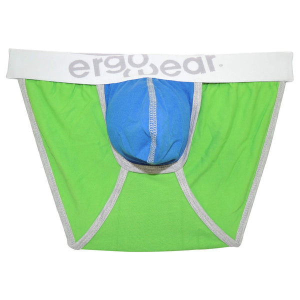 EW0308 Trio Brief Color Green-Gray