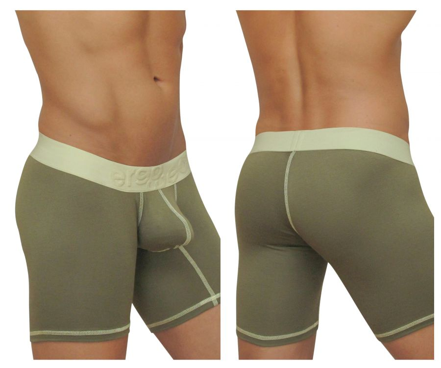 EW0470 MAX Light Boxer Briefs Color Green