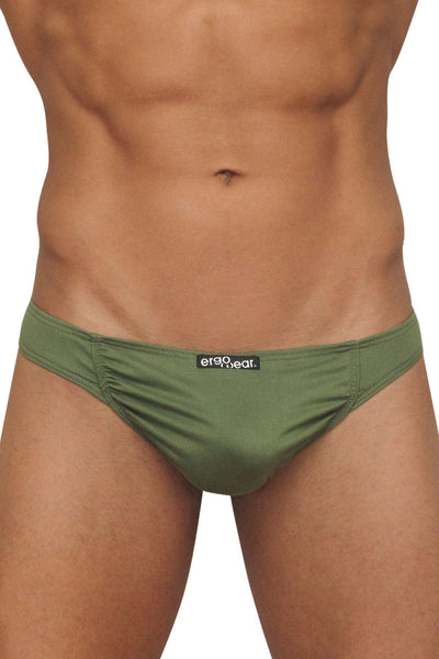 EW0495 FEEL Suave Thong Color Green