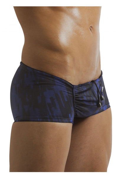 EW0560 FEEL Swim Mini Trunk Color Ocean Print