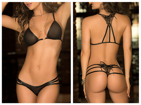 8199 Two Piece Set Color Black