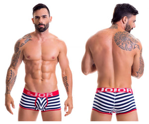 0386 Navy Boxer Briefs Color Multi-colored