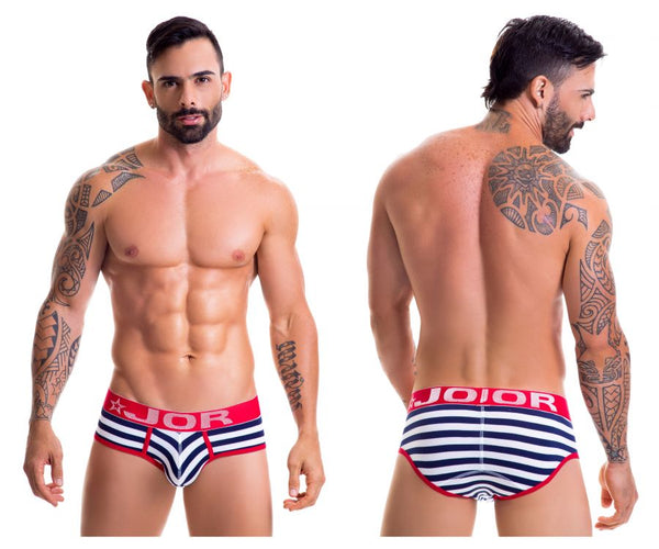 0387 Navy Briefs Color Multi-colored