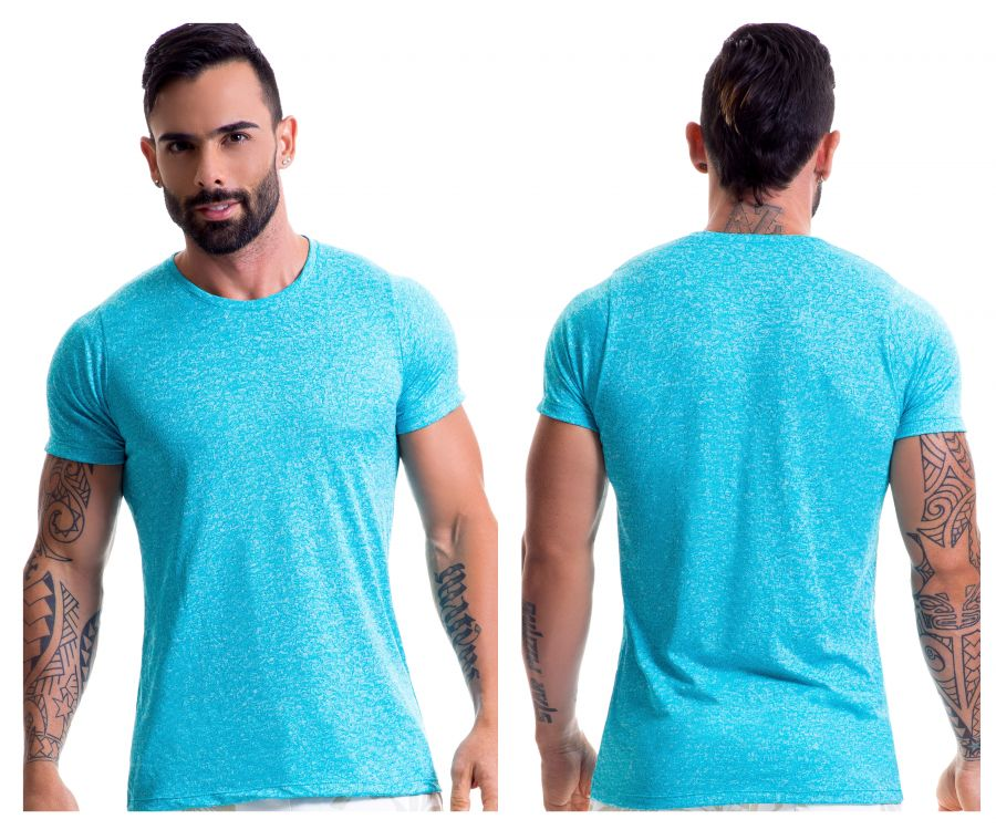 0444 Liquid Tank Top Color Turquoise