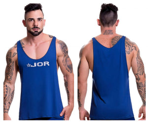 0517 Game Tank Top Color Blue