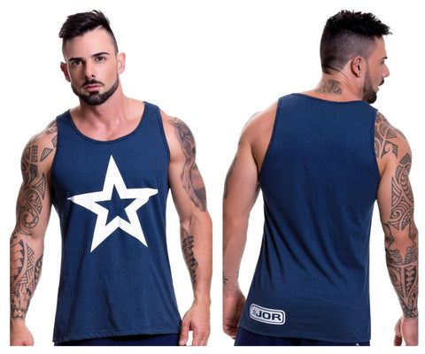 0518 Turin Tank Top Color Blue