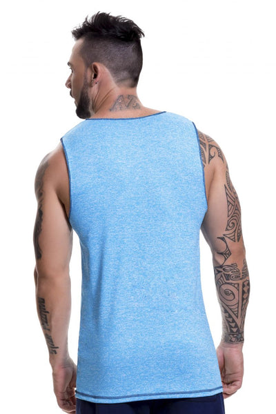 0521 Animal Tank Top Color Blue