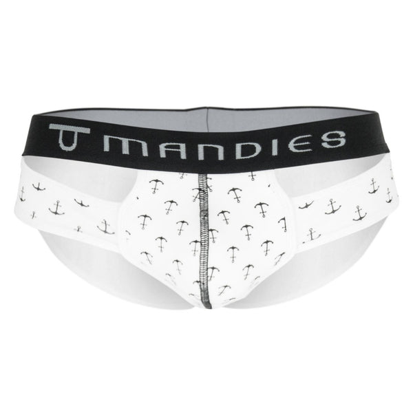 MDS003 Anchor Briefs Color White