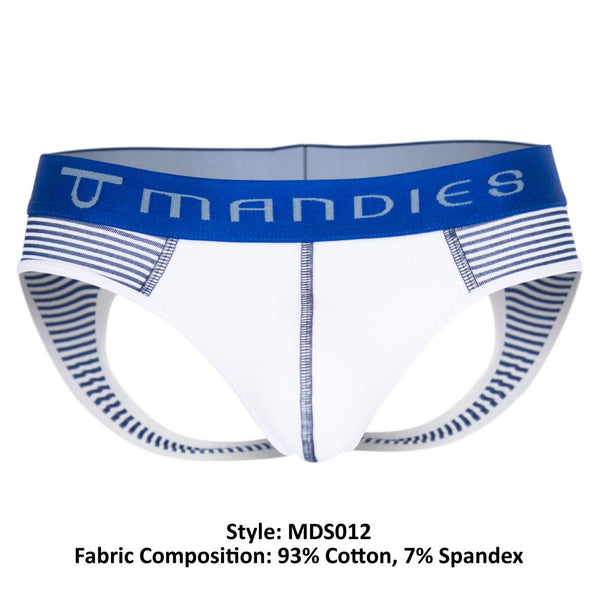 MDS012 Bow Jockstrap Color Blue