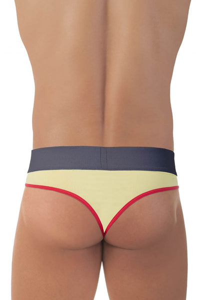 MDS019 Discotheque Thongs Color Yellow