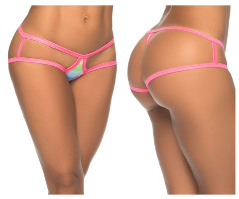 1079 Cage Panty Color Rainbow Prints