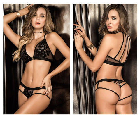 8265 Two Piece Set Color Black