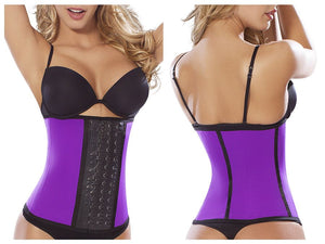 8031 Workout Waist Cincher Color Purple