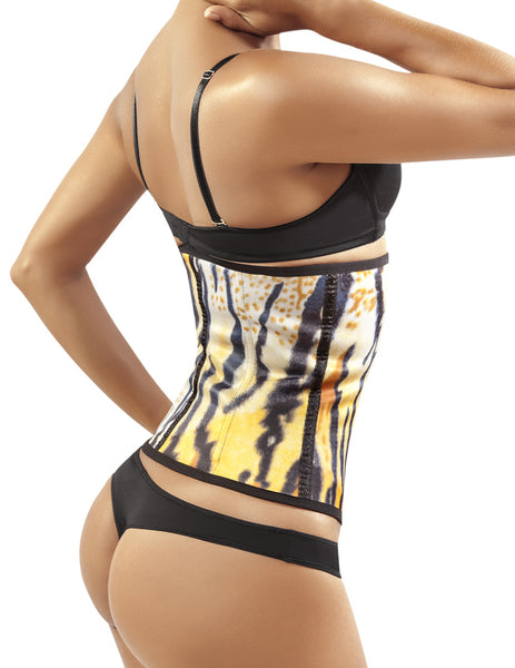 8032 Workout Waist Cincher Color Yellow