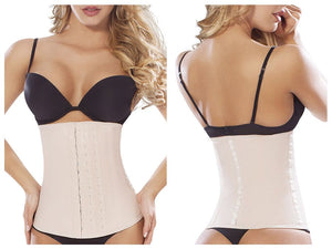 8033 Workout Waist Cincher Color Beige