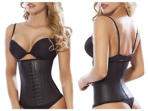8033 Workout Waist Cincher Color Black