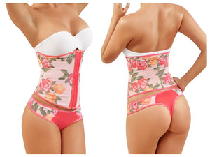 8038 Waist Cincher Lingerie Color Salmon