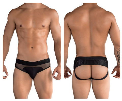 PIK 9252 Surprise Jockstrap Color Black