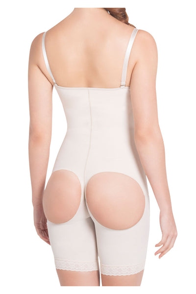 1009 High Compression Derriere Lift Mid-Thigh Shaper Color Nude