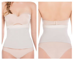 b7bbd083c88 TF500 Seamless Silicone-Lined Shaping Waist Cincher Color Nude